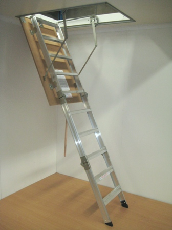 Big Boss Aluminum is a wider Access Ladder option